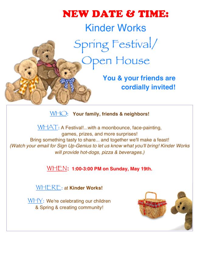 Spring Fest 2019 New Date DTN Invite